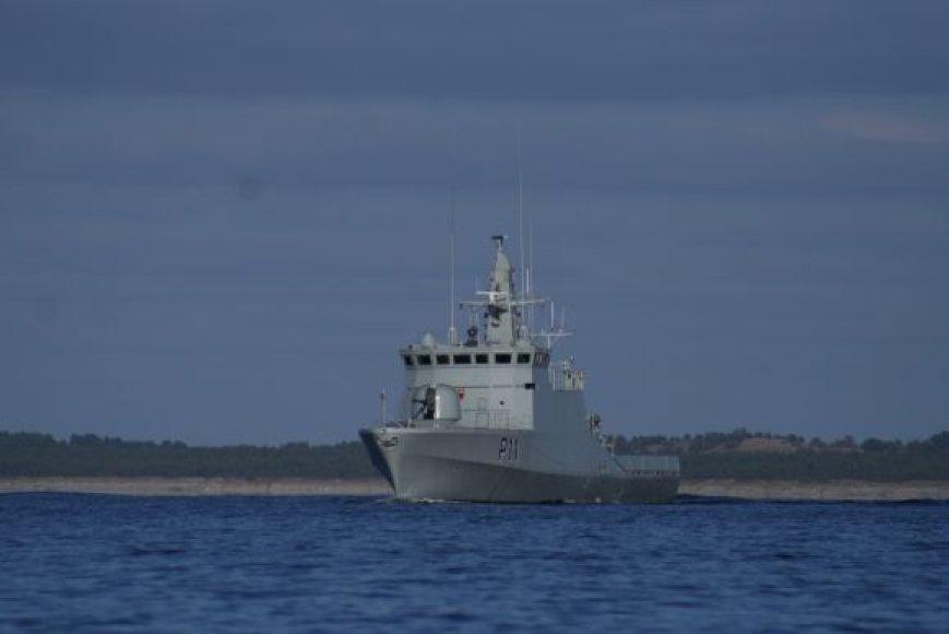 Laivą Lietuvos kariuomenė įsigijo iš Danijos karinių jūrų pajėgų.
