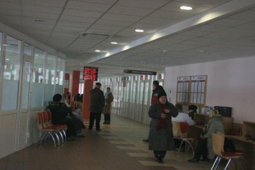 """Pernai """"Sodros"""" Klaipėdos skyrius, apimantis uostamiestį, Neringą ir visą rajoną, surinko 839 mln. Lt įmokų."""