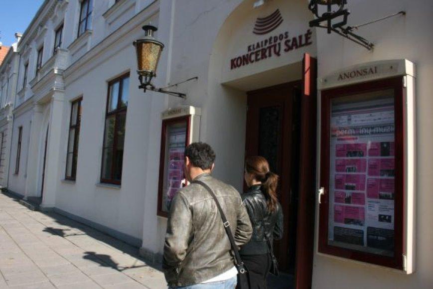 Koncertų salė jau parengė visą programą, kuria užbaigs 6-ąjį koncertinį sezoną.
