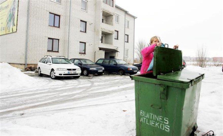 Beveik neabejojama, jog kovo mėnesį Kauno politikams tarus savo žodį, miestiečiai už šiukšlių išvežimą mokės pagal buto plotą.