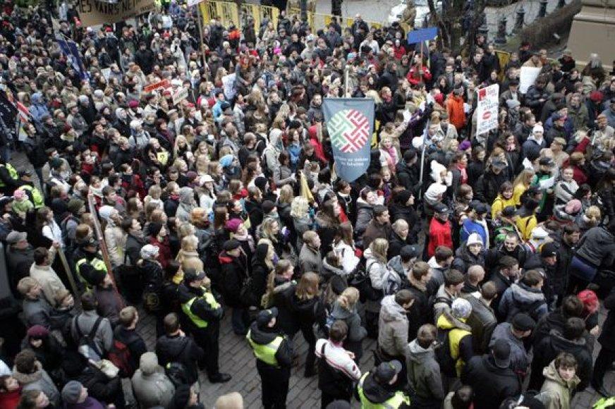Studentų protestas