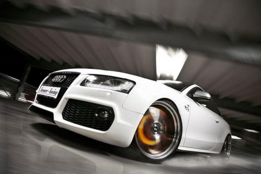 """Audi S5 White Beast"""