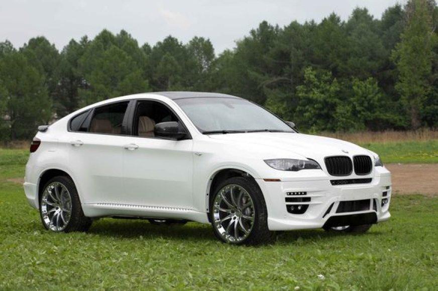 """BMW X6 Status Design"""
