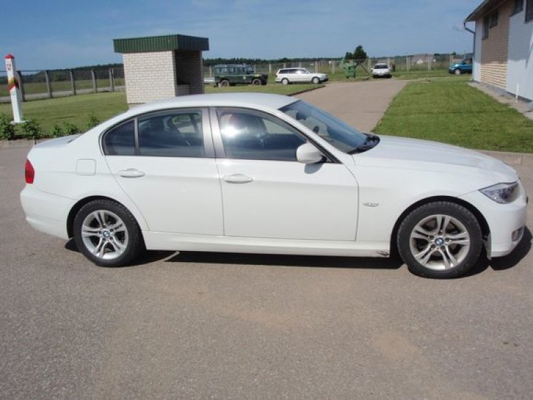 BMW kėbulo numeris perkaltas