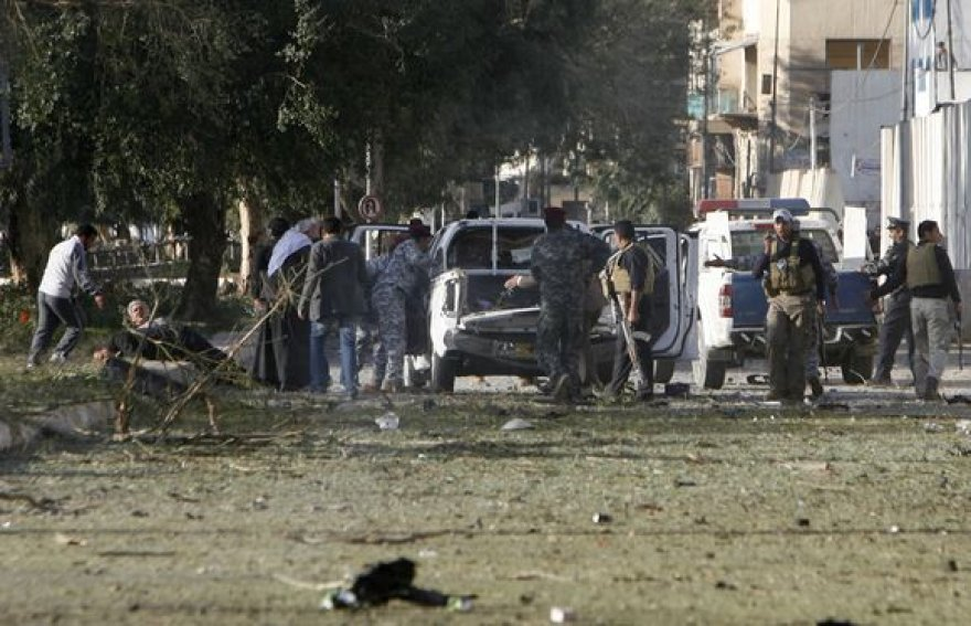 Bagdadą sudrebino bombos
