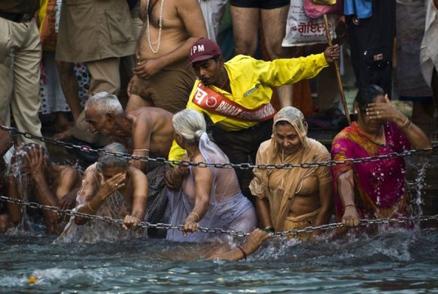 Hinduistų piligrimai