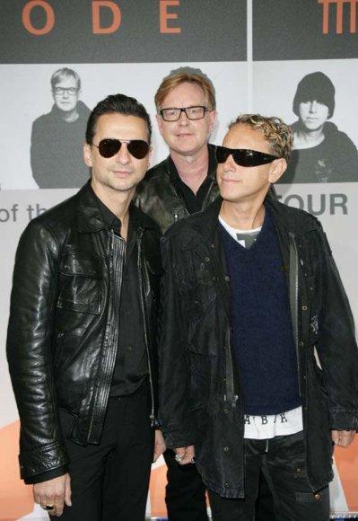 """Foto naujienai: Naujausias """"Depeche Mode"""" albumas pasirodys vinilinėje plokštelėje"""