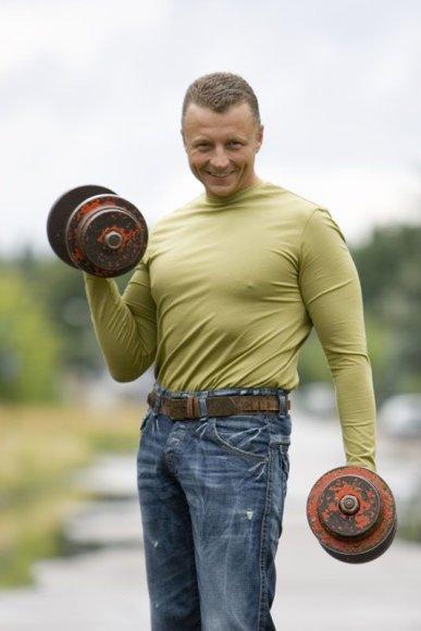 Foto naujienai: Gediminas Juodeika: trečioje serijoje mane gali nušauti...