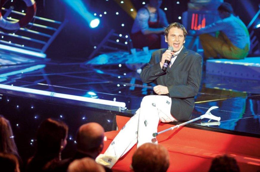 Foto naujienai: Marijus Mikutavičius: viena koja – ne bėda