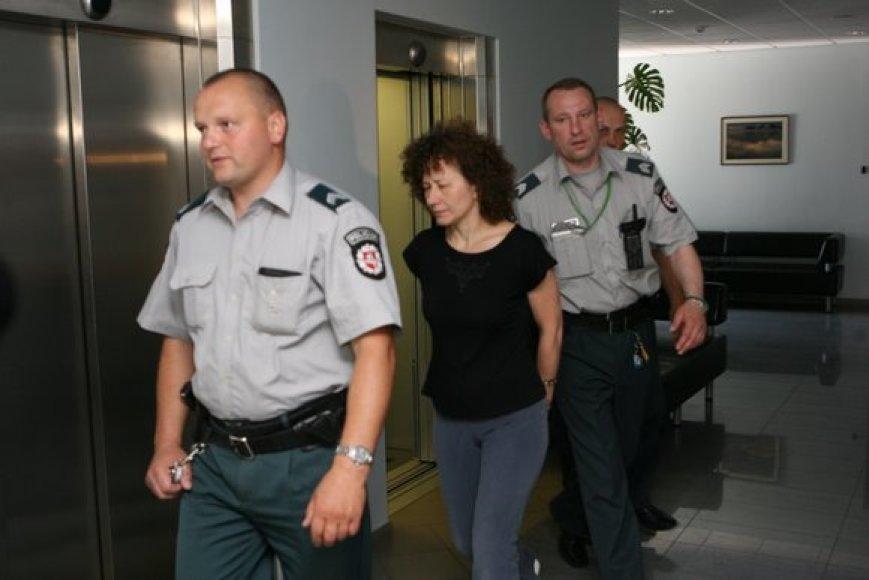 Seimo kanceliarijos buhalterė Regina Petkelienė