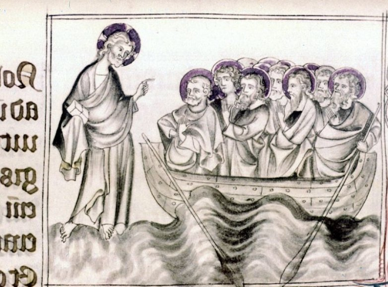 Kristus eina vandeniu