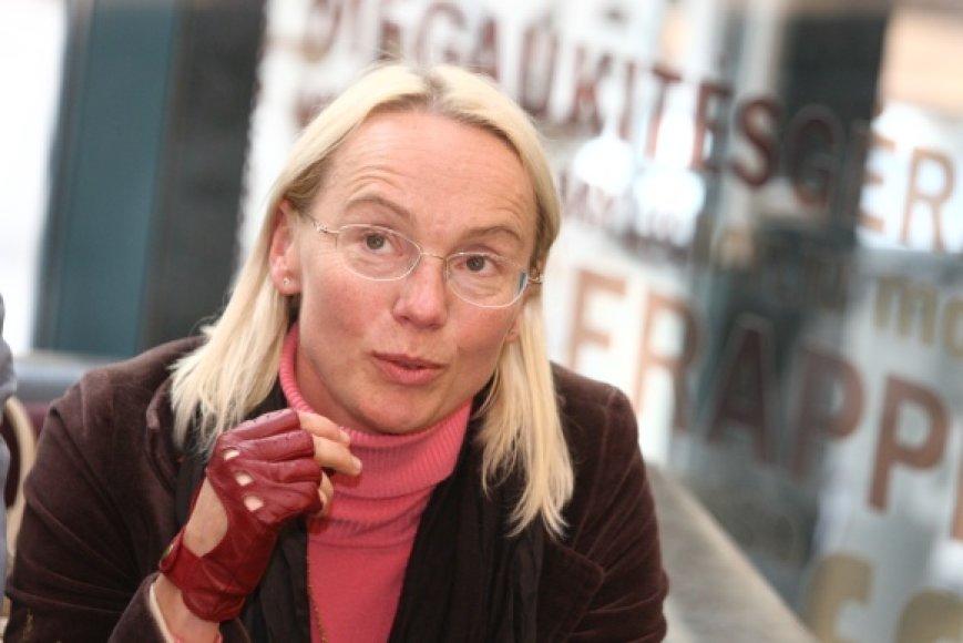 Aktorė Dalia Michelevičiūtė
