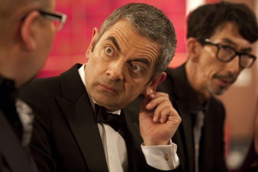 """Rowanas Atkinsonas komedijoje """"Super Džonio prisikėlimas"""""""
