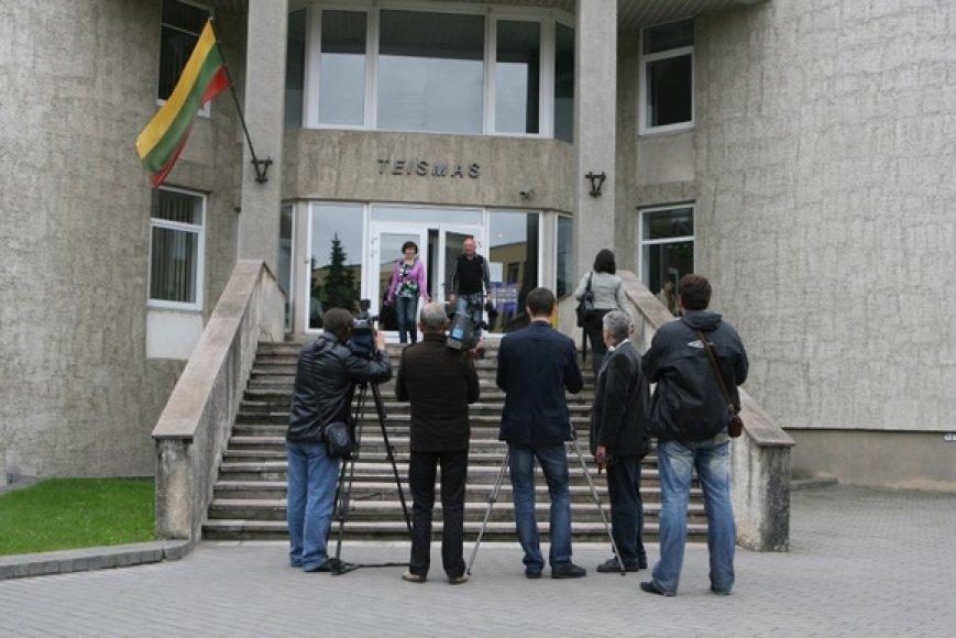 Šurmulys Panevėžio miesto apylinkės teisme