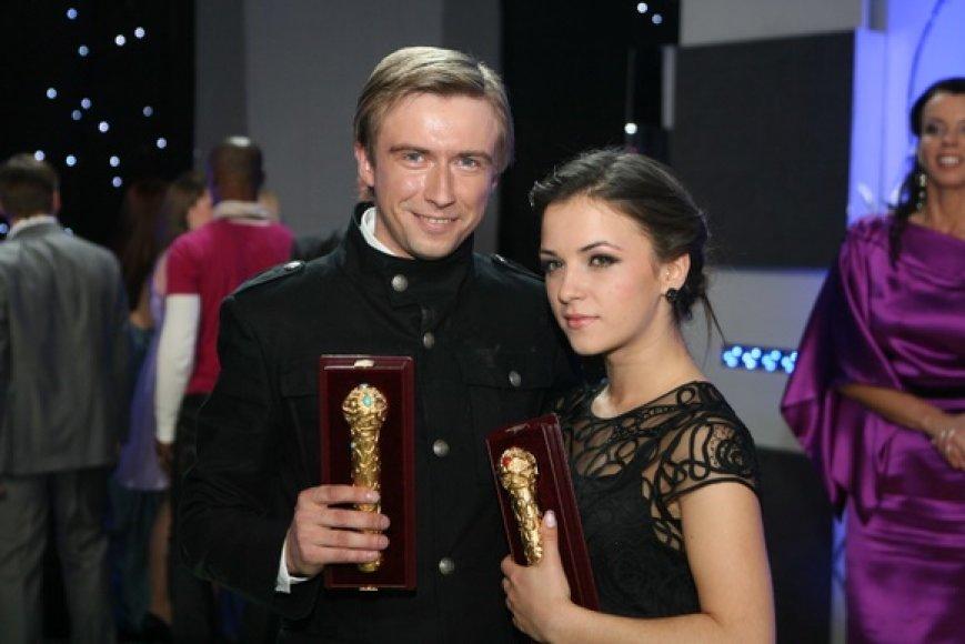Irūna ir Marius Jampolskis