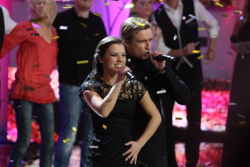 Marius Jampolskis ir Irūna Puzaraitė