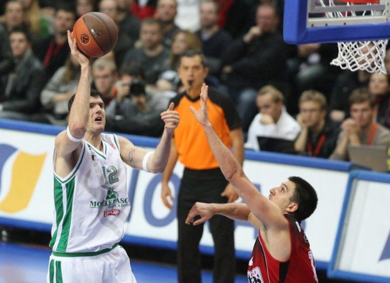 K.Lavrinovičius buv naudingas ir rungtynėse Vilniuje