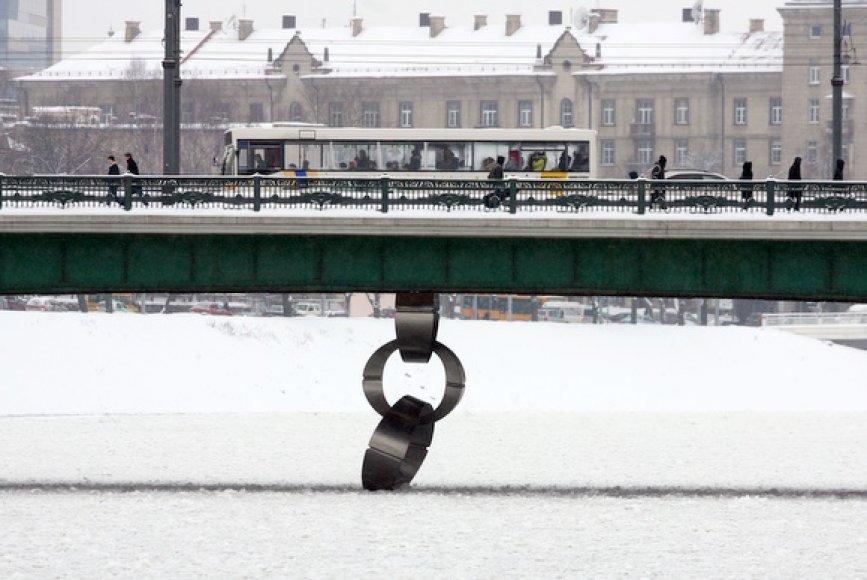 Vilniuje patvinusi Neris