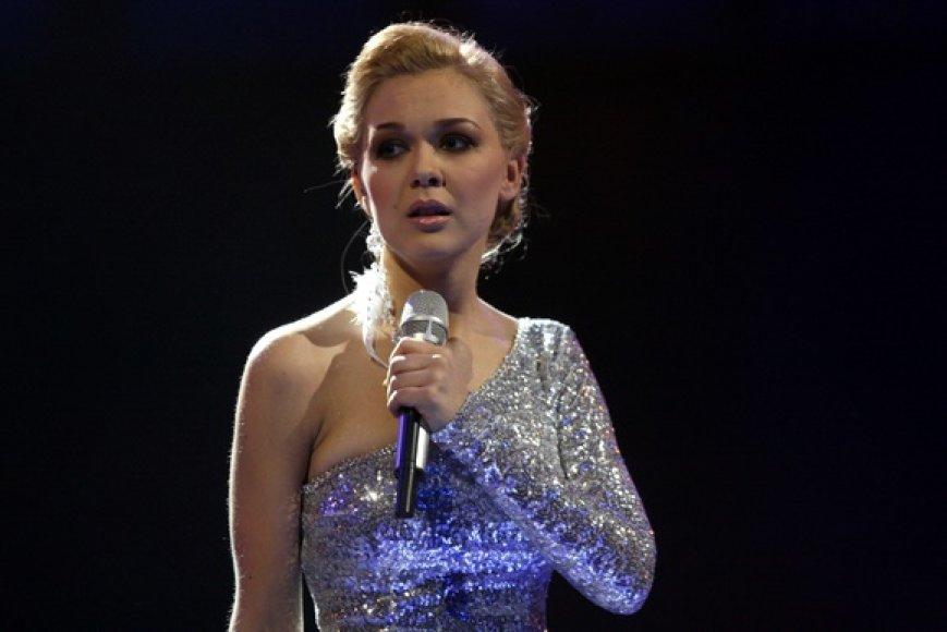 """Atrankos į """"Euroviziją"""" finalo akimirka"""
