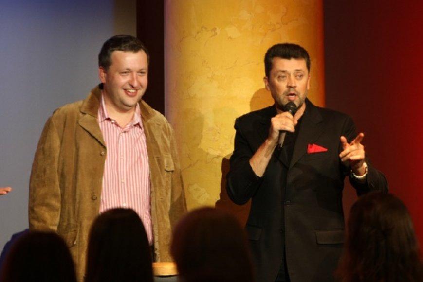 Antanas Guoga ir Vytautas Šapranauskas