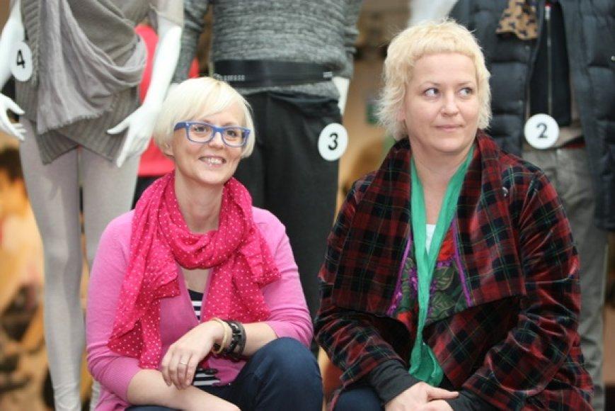 Ieva Ševiakovaitė (kairėje) ir Jolanta Rimkutė