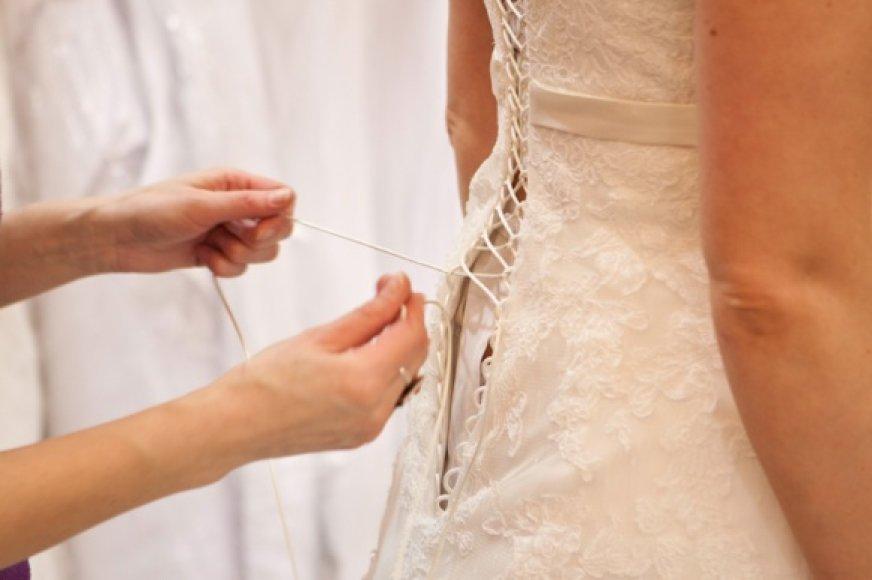 Parodoje – vestuvinių suknelių mados