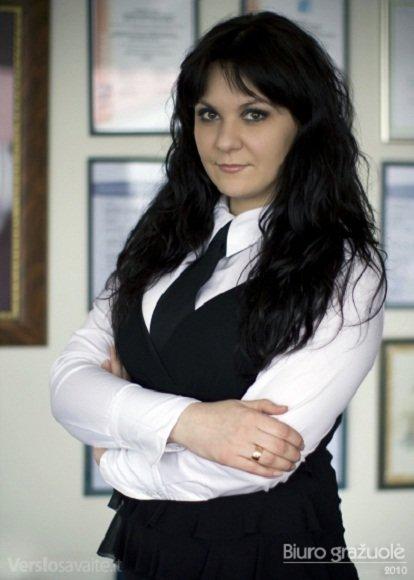 """Joana Žilinskienė, dirbanti įmonėje """"Plungės kooperatinė prekyba"""""""
