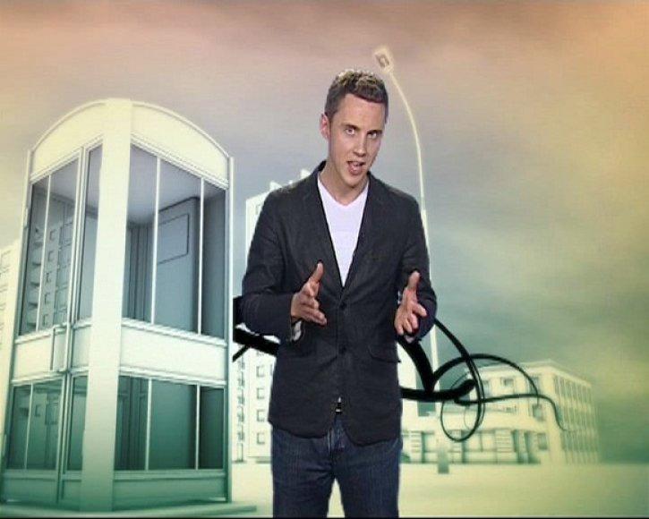 NKTV vedėjas Ernestas Janušas