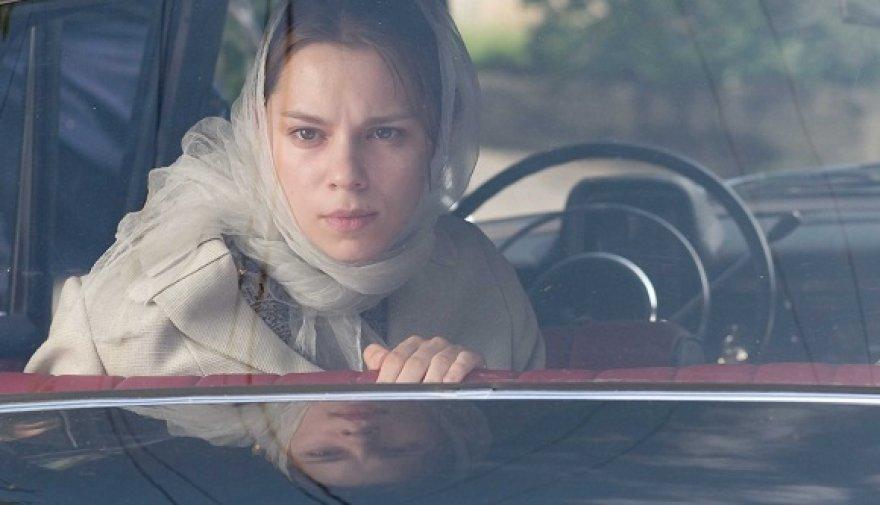 """Filmo """"Kai apkabinsiu tave"""" aktorė Elžbieta Latėnaitė"""