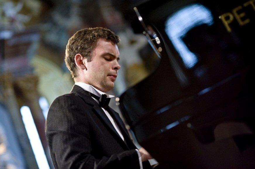 Pianistas Paulius Rudokas