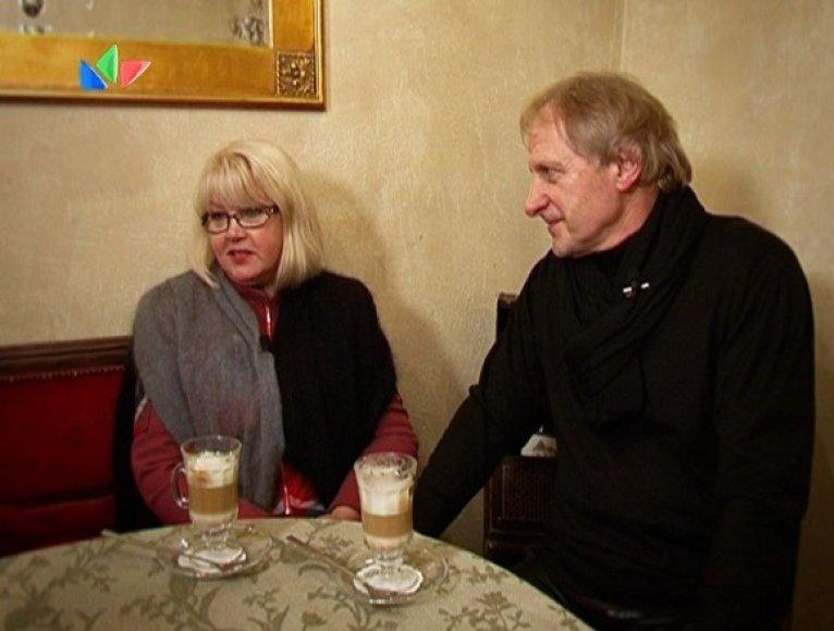 V.Malinauskas ir Elena