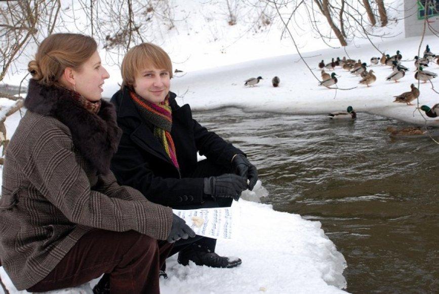 Domas Jakštas ir Kristina Ivanauskaitė-Jucienė