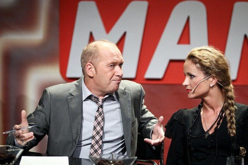 Jurijus Smoriginas ir Edita Daniūtė