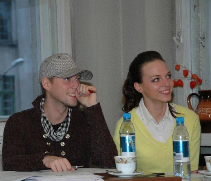 D.Šavrovas ir E.Anusauskaitė