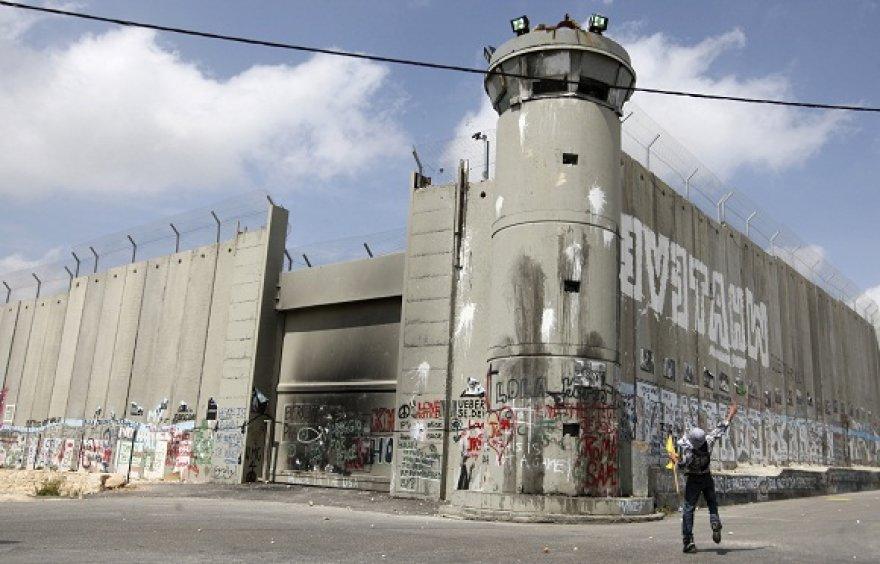 Izraelį nuo Palestinos Autonomijos teritorijų skirianti saugumo siena
