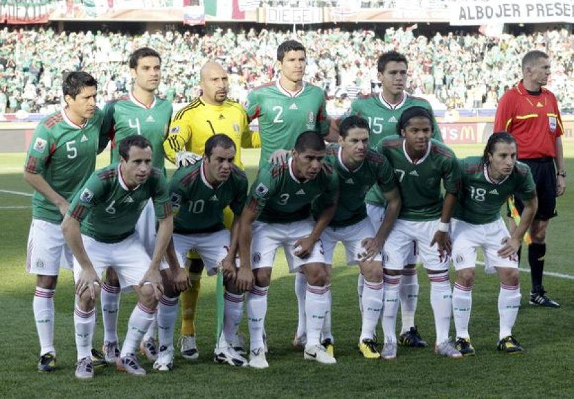 Meksikos rinktinė