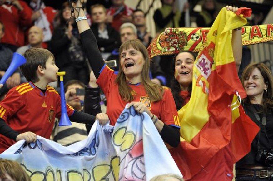 Ispanų sirgaliai