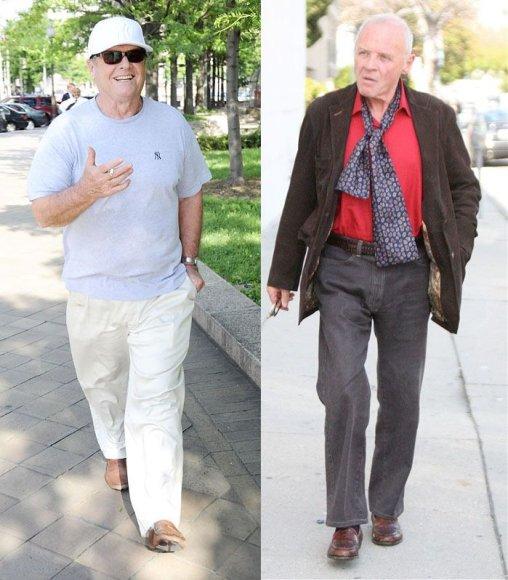 Jackas Nicholsonas ir Anthony Hopkinsas