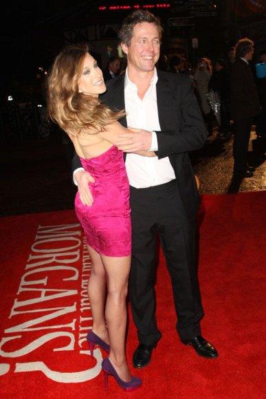 Sarah Jessica Parker ir Hughas Grantas