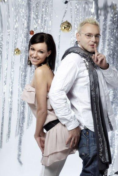 Oksana Zlatkovaitė ir Egmontas Bžeskas