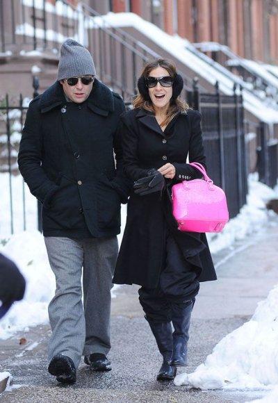 Sarah Jessica Parker su vyru Matthew Brodericku