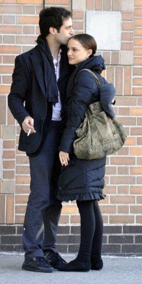 Natalie Portman ir Benjaminas Millepiedas