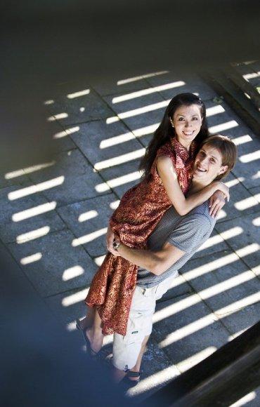 Miki Hamanaka ir Aurimas Paulauskas