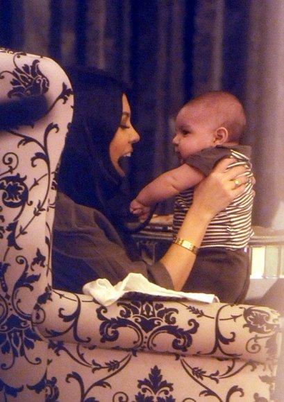 Kourtney Kardashian su sūneliu