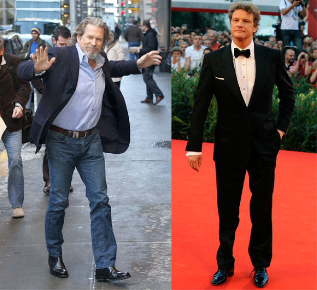 Jeffas Bridgesas ir Colinas Firthas