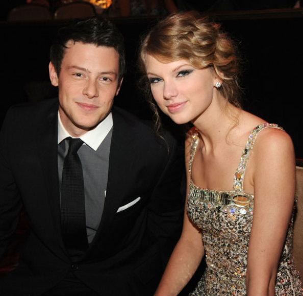 Cory Monteithas ir Taylor Swift