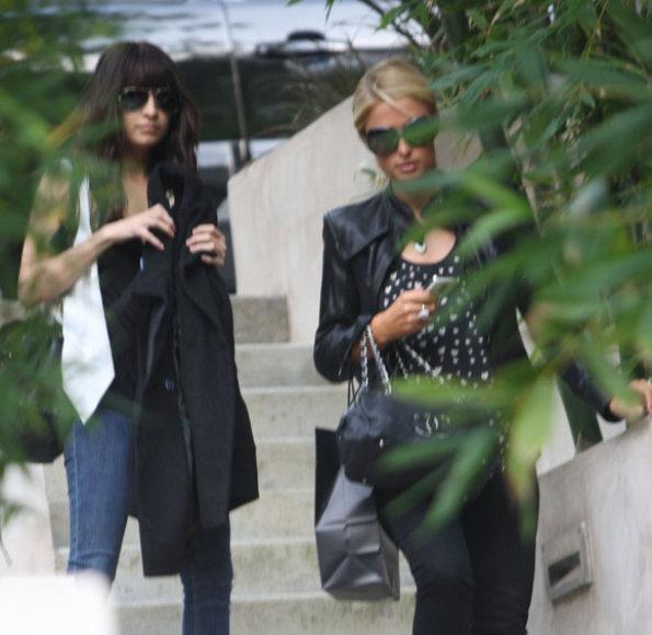 Nicole Richie ir Paris Hilton