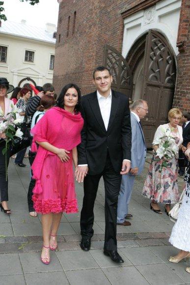 Agnė Kurmanavičiūtė ir Jonas Mačiulis