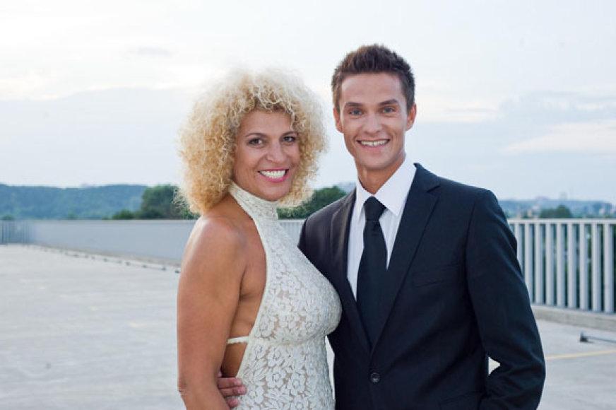 Svetlana Pronina su partneriu Tomu Uroška