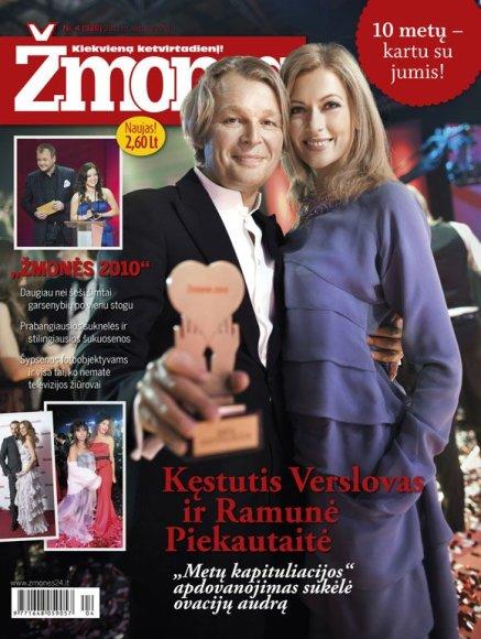 Ramunė Piekautaitė ir Kęstutis Verslovas